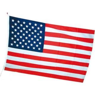 Drapeau USA avec oeillets