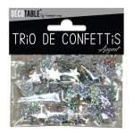 Trio de confettis