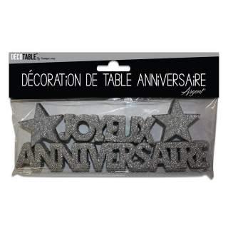 Décoration de table Joyeux Anniversaire