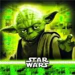 20 serviettes papier Star Wars