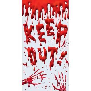 Décor de porte sanglant