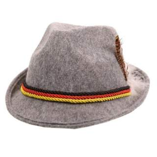 Chapeau feutre Tyrol gris