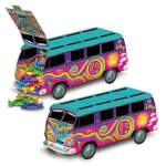 Bus hippie centre de table