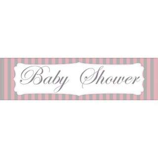 Bannière baby shower fille