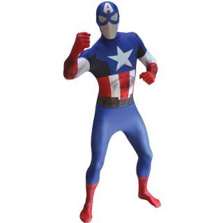 Combinaison seconde peau Captain America