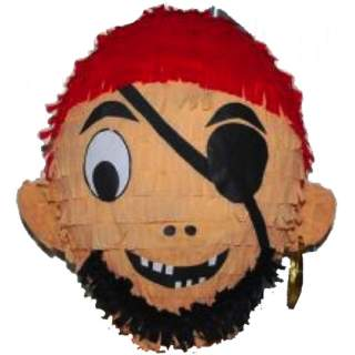 Pinata tête de pirate