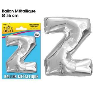 Ballon lettre Z