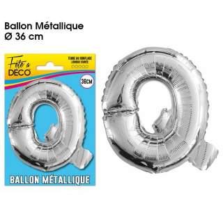 Ballon lettre Q