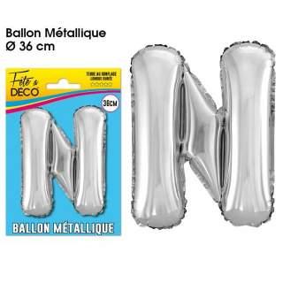 Ballon lettre N