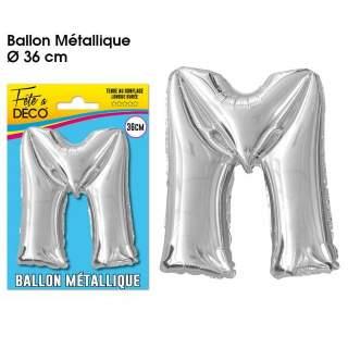Ballon lettre M