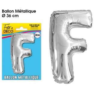 Ballon lettre F
