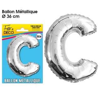 Ballon lettre C