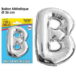 Ballon lettre B