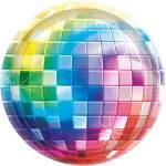 8 assiettes disco fever