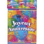 8 sacs cadeaux joyeux anniversaire