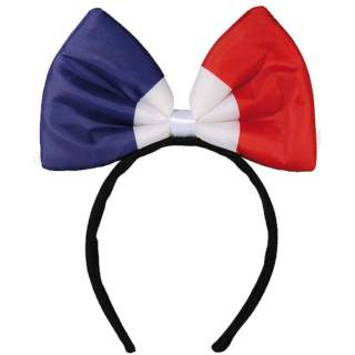 Serre-tête noeud tricolore France