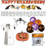 Kit décoration halloween