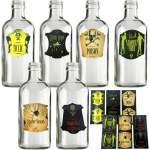 12 autocollants halloween pour bouteille