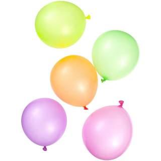 10 ballons fluorescents