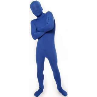 Combinaison seconde peau bleue
