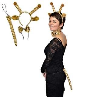 Set accessoires girafe