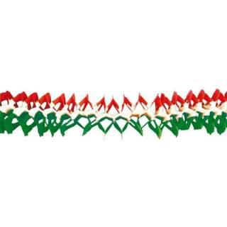 Guirlande aux couleurs de l'Italie