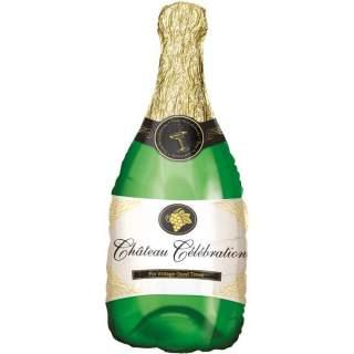 Ballon bouteille de champagne