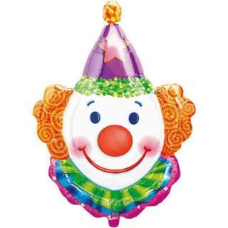 Ballon tête de clown