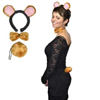 Set accessoires ours brun