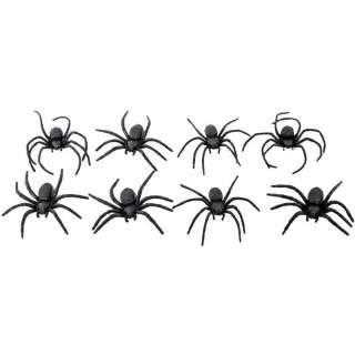 8 araignées noires
