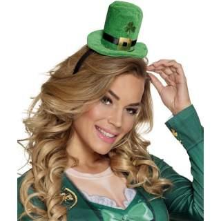 Serre-tête chapeau St Patrick