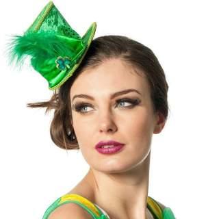 Mini chapeau haut de forme Saint Patrick