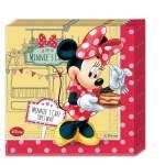 20 serviettes papier Minnie Mouse