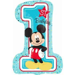 Ballon Mickey first birthday