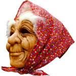 Masque de vieille