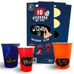 10 stickers My Cup