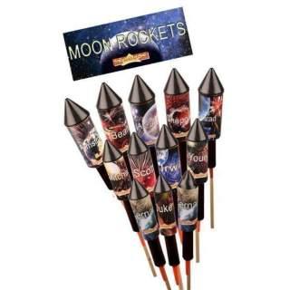 10 fusées Moon Rockets