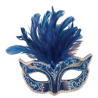 Loup bleu à plumes