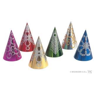Chapeau conique décorations