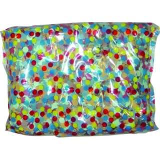 Sachet de 100g de confettis multicolores
