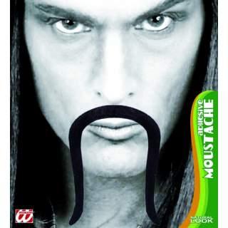 Moustache de chinois noire