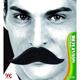 Moustache de roi noire