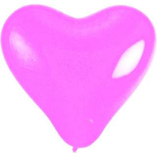 Sachet de 100 ballons coeur