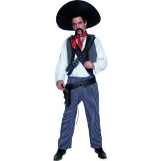 Déguisement de bandit méxicain