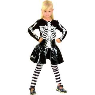 Déguisement skeleton fille