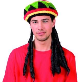 Perruque rasta avec bonnet