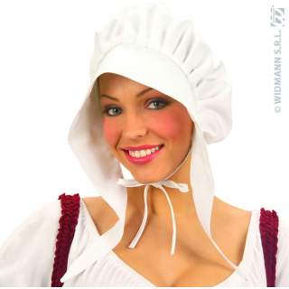Bonnet dame blanc