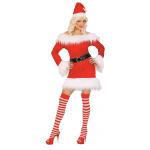 Déguisement Miss Santa peluche