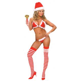 Déguisement bikini christmas peluche