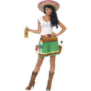 Déguisement Méxicaine tequila shooter